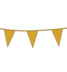 Vlaggenlijn Goud 10 meter plus minus