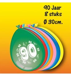 90 jaar ballonnen
