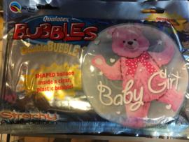 Baby girl Wordt geleverd zonder helium 46 cm
