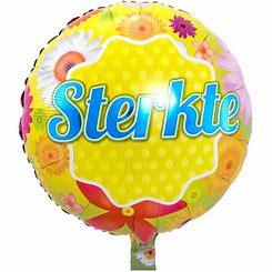 Folie ballon sterkte  18 inch 45 cm geleverd zonder helium