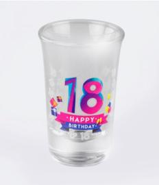 18 happy shot 6 stuks