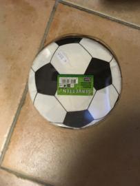 Servetten rond voetbal