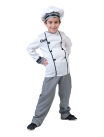 Chef Remy shirt pants hat maat 116