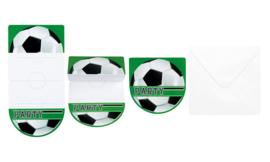 Inovations Footbal 6 pcs per set 10x20 inclusief envollop