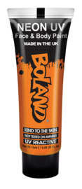 Hair Face Body paint 10 ml neon orange