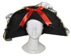 Piraten hoed vrouw