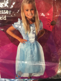 Prinsessen jurkje blauw maat 98/104