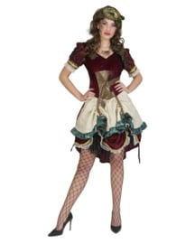 steampunk victoria dress maat 44/46
