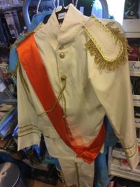 Konings mantel  Creme  maat M