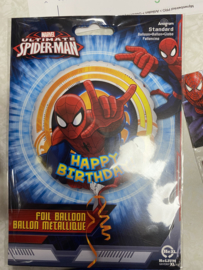 folie ballon zonder helium spiderman