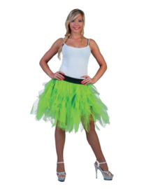 Fancy Petticoat Neon Green  One Size