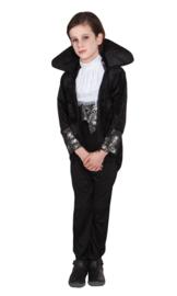 Boy coat With collar , jabot,dickey, pants maat 7/9 jaar