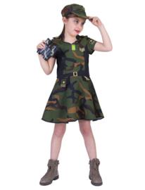 Army Girl Anna dress maat 116