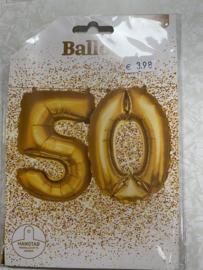 Folie ballon 50 geleverd zonder helium