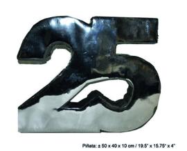 piñata 25 Zilver