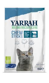 Yarrah Biologische Kauwstaafjes voor Katten