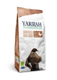 Yarrah Biologische Hondenbrokken Graanvrij Biokip en MSC-vis