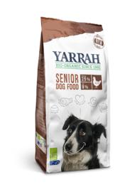 Yarrah Biologische Hondenbrokken Senior Biokip en MSC-vis