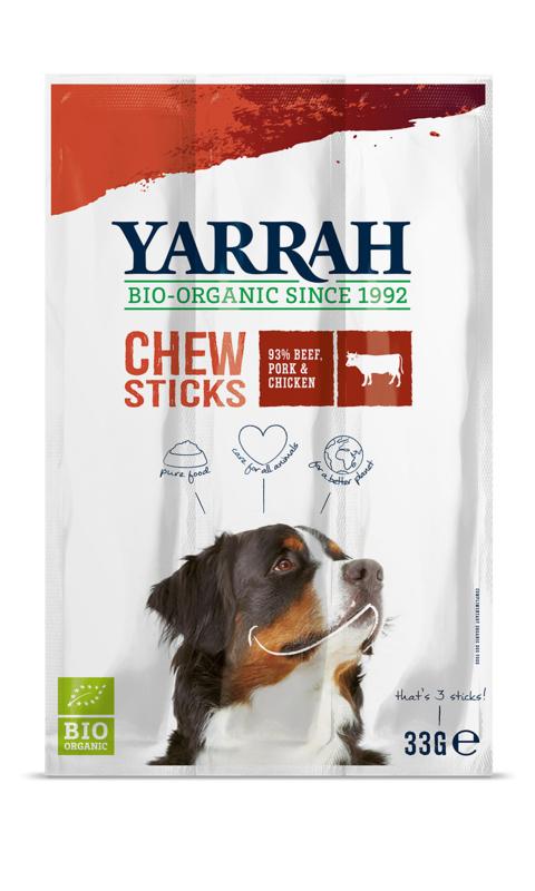 Yarrah Biologische Kauwstaafjes voor Honden