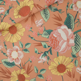 SYAS - Bloom Garden - L - French Terry - Café Crème - R