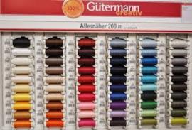 Gutermann naaigaren 200 m bijpassend garen