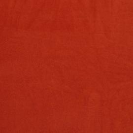 Rekbare badstof (spons) terracotta