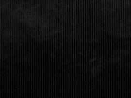 Corduroy brede rib zwart - magnus