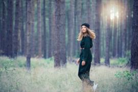 SYAS- Corduroy - Brede Rib - Ponderosa Groen