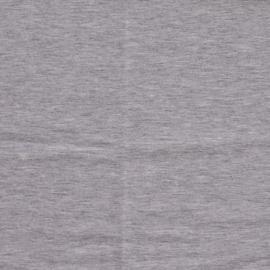 KNIT JOGGING MELANGE BRUSHED - zilver grijs