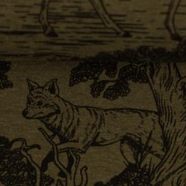 Mareike  Forest Animals, Melange, khaki