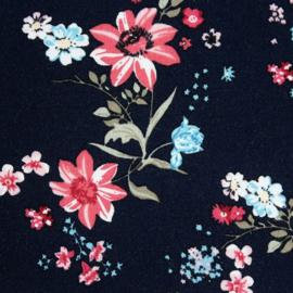Organic Jersey Flowers Dream