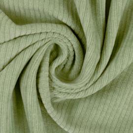 Juna - Rekbare corduroy mint