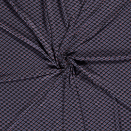 Viscose tricot abstract