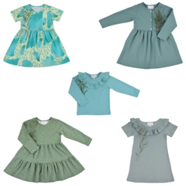 Bel'Etoile - Hazel jurk en top kids – papieren naaipatroon