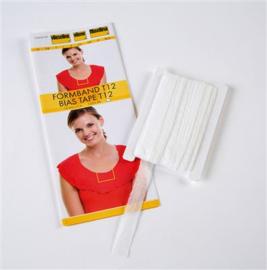Vlieseline vormband wit  5meter
