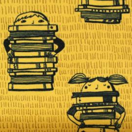 Biojersey Book Kids mosterd