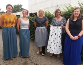 MAXI rok  voor groot en klein - zaterdag 13 juni ( 9u30 - 12u30)