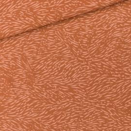 SYAS - Flecks - M - Viscose Rayon - Amber Bruin - R