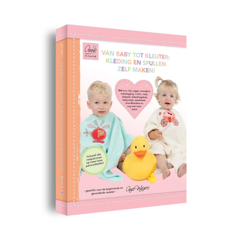 Deel II – Van baby tot kleuter: kleding en spullen zelf maken! – Hardcover