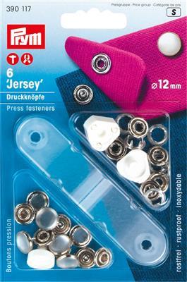 Jersey  drukknopen Parelmoer 10mm