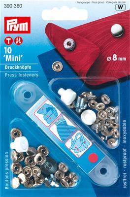 Mini drukknop 8MM