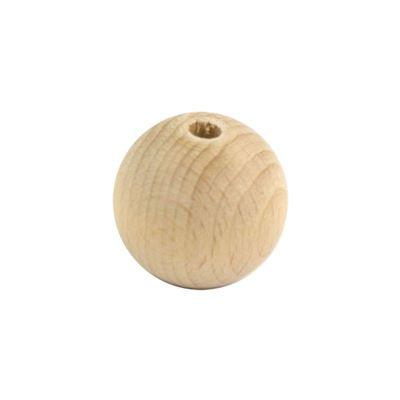 Houten kraal 20mm (stk)*