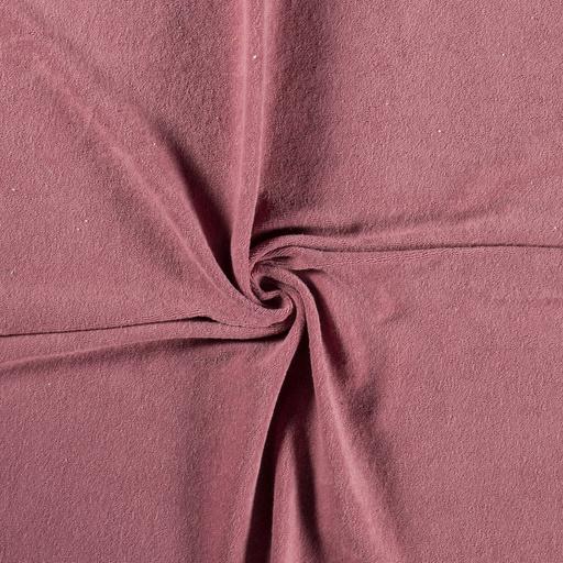Stretch badstof old pink (spons)