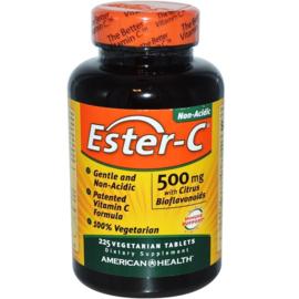 American Health Ester-C, 500 mg met 200 mg bioflavonoïden, 225 vegetarische tabletten