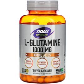 Now Foods L-Glutamine 1000 mg , 120 vegetarische capsules