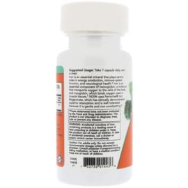 Now Foods IJzer Bisglycinaat, 18 mg, 120 vegetarische capsules