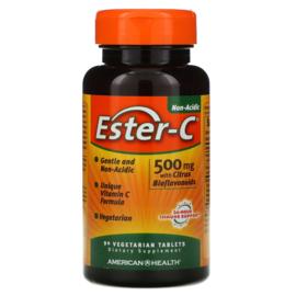 American Health Ester-C, 500 mg met 200 mg bioflavonoïden, 90 vegetarische tabletten