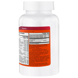 Now Foods Daily Vits, 250 tabletten (100% ADH), voor vegetariërs en veganisten