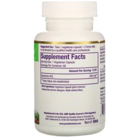 Paradise Herbs, Berberine, 500 mg, 60 vegetarische capsules
