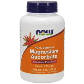 Now Foods, Magnesium Ascorbaat, Zuivere Vitamine C poeder, 227 gram,  voor vegetariërs en veganisten